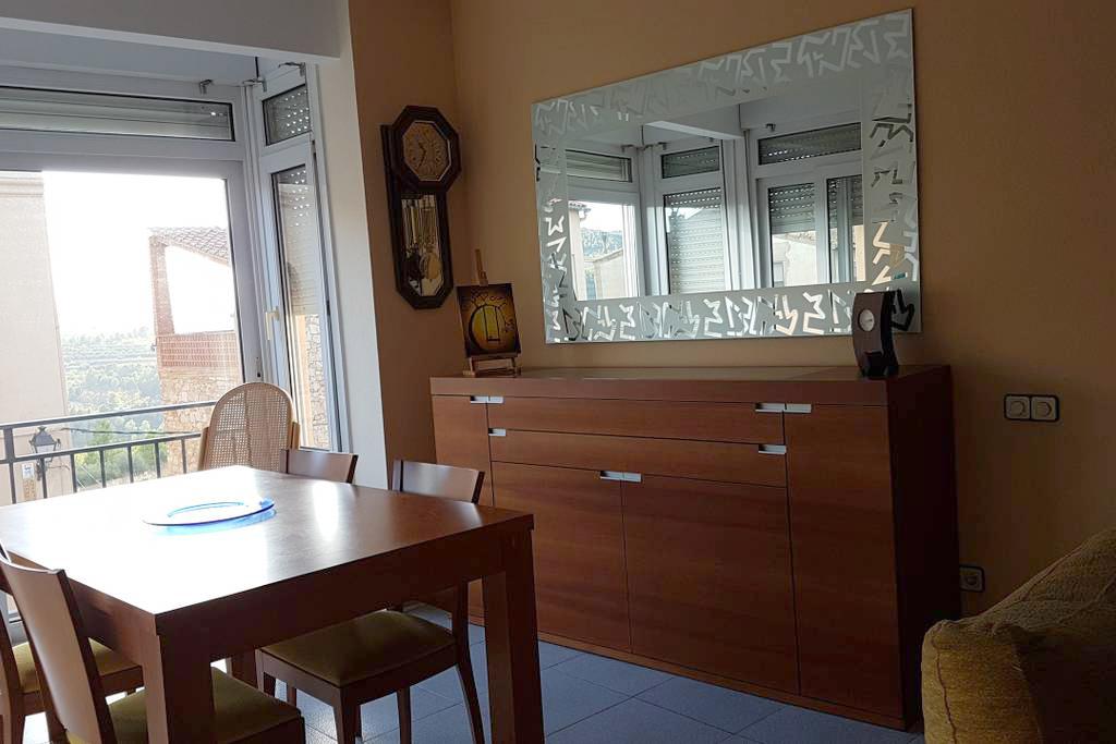 Comedor Cala Providencia Alojamiento Rural Guiamets Tarragona