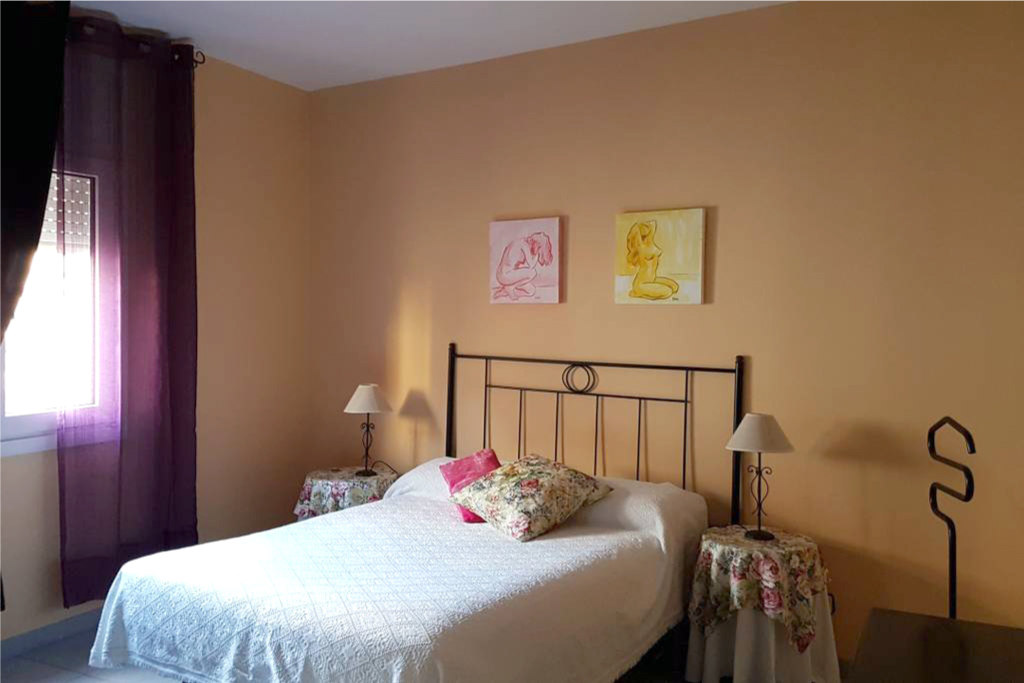 Habitación Matrimonio Cala Providencia Alojamiento Rural Guiamets Tarragona